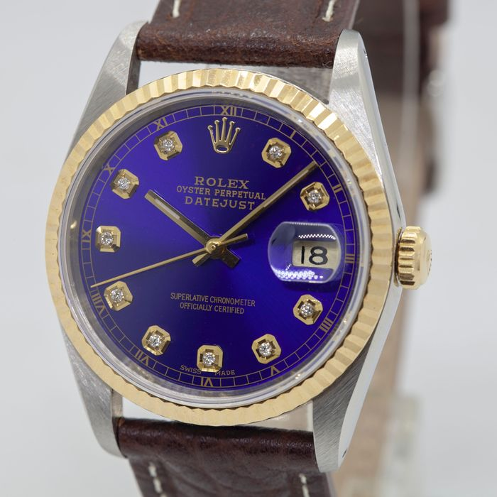Rolex - Oyster Perpetual DateJust - 16233 - Uomo - 1980-1989