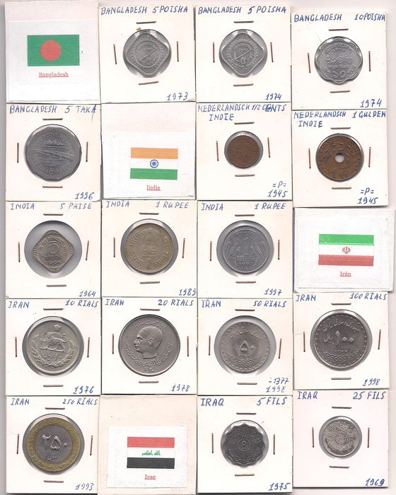 lot of 25 Premium 4 Pocket Currency Album Pages