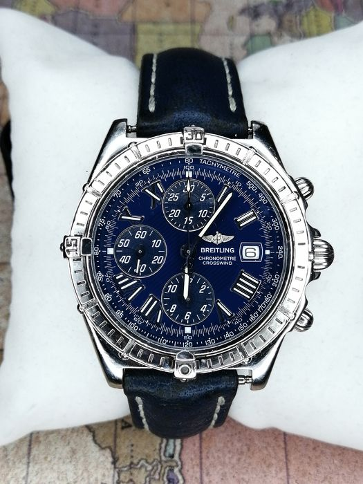 """Breitling - CrossWind """"NO RESERVE PRICE"""" - A13355 - Homme - 2000-2010"""