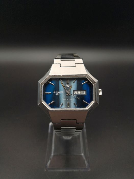 "Nivada - GLX Automatic ""NOS Condition"" - Homme - 1970-1979"