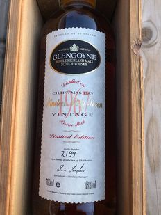Glengoyne 1967 28 years old Christmas Day Limited edition  - Original bottling - b. 1992 - 70cl