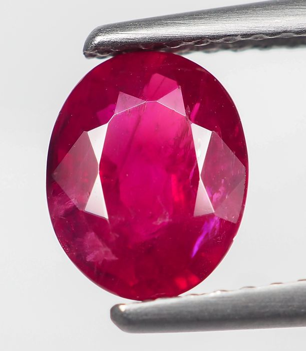 No Reserve - Red Ruby - Burma - 1.25 ct