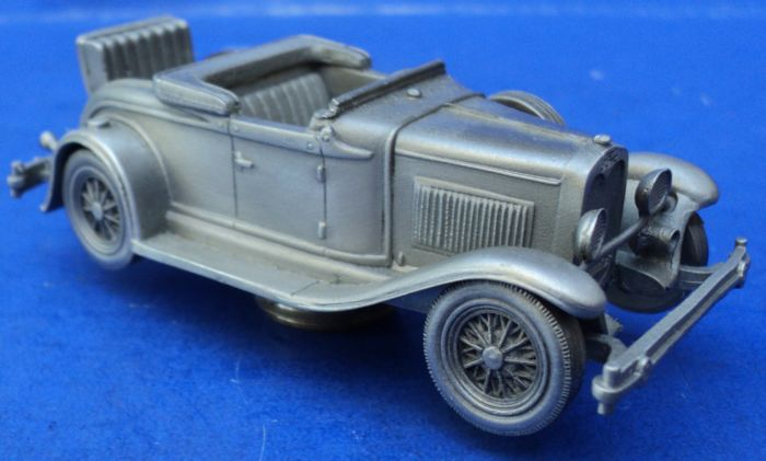 Oggetto decorativo - A Ford - A Ford Zilver Tin Model uit 1930 - 1930-1970
