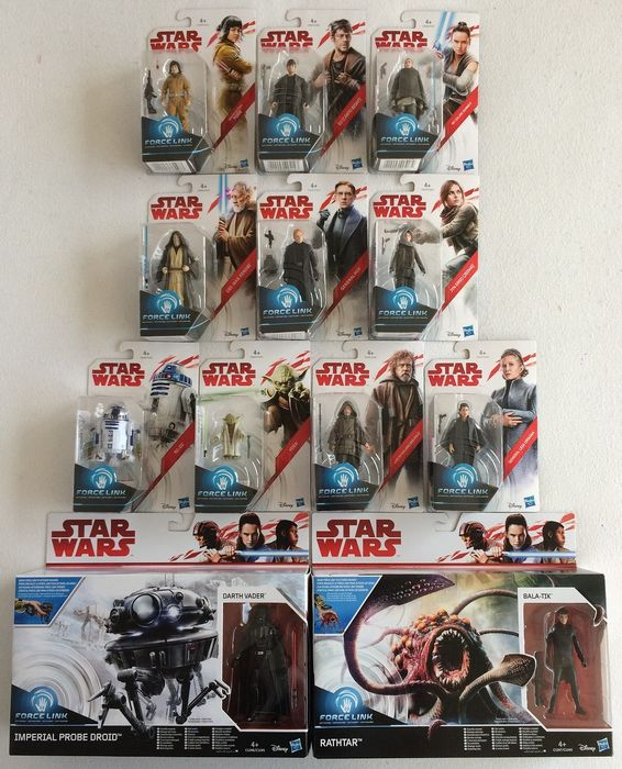 Hasbro - 12 Star Wars The Last Jedi - Force Link - Statuetta