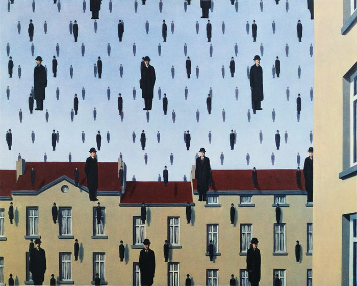 René Magritte (after) - Golconde