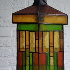 Lamp, Lantern - Stained glass