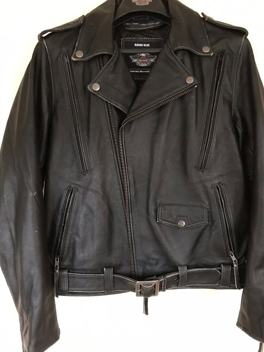 2000 Davidson Leather Jacket Harley Vêtements Genuine 92EHIWD