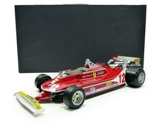 GP Replicas - 1:12 - Ferrari 312-T4 #12 - Gilles Villeneuve 2nd Place World Championship 1979