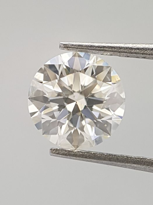 Diamant - 0.35 ct - Brillant - G - SI2, IGI Certified - Ideal Cut