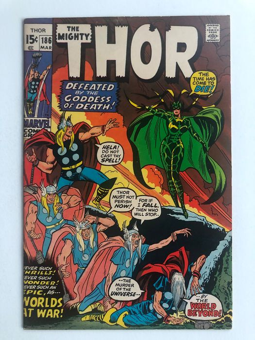 The Mighty Thor 186 Hela Appearance High Grade