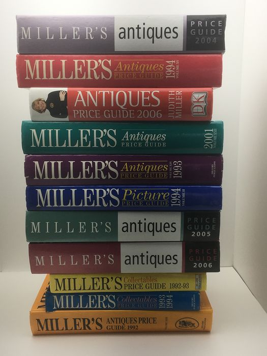 Collection 11 pieces : Judith & Martin Miller - Miller's Price Guides - 1992/2006