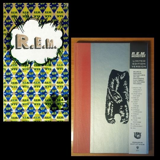 R.E.M. - 1. Up (Limited 1998 CD box-set) 2. Monster (Limited Edition 1994 CD) - Múltiples títulos - CD, Colección limitada - 1994/1998