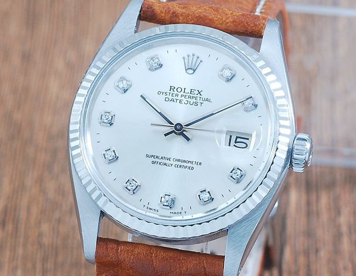 Rolex - Oyster Perpetual Datejust  - 16014 - Uomo - 1970-1979