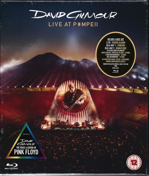 David Gilmour - David Gilmour ‎– Live At Pompeii || 2CD Box Set + 2 Blu-ray || Deluxe Edition  - CD Box set, Blu Ray - 2017/2017