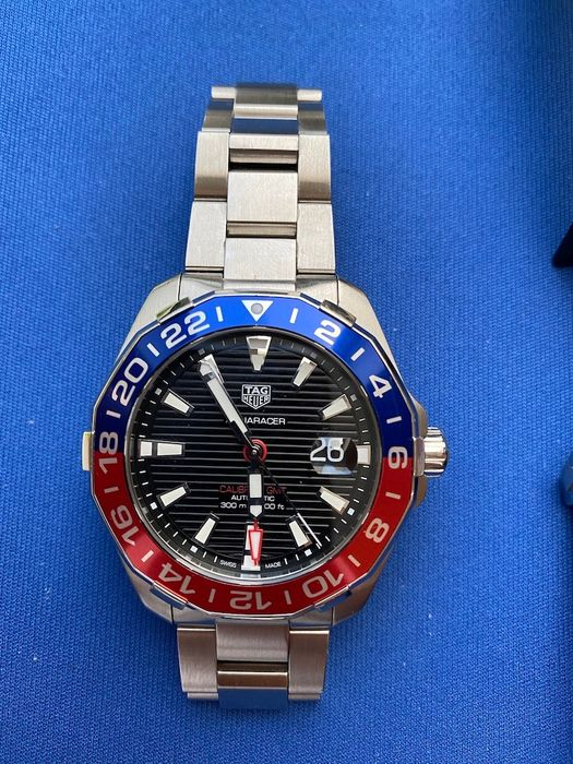 TAG Heuer - Aquaracer 300m Calibre 7 GMT - Ref. WAY201F-BA0927 - Herren - 2018