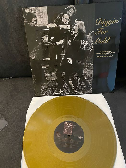 Various Artists/Bands in Punk - Multiple artists - Diggin' For Gold Volume 1+2 - Multiple titles - LP's - 1994/2018
