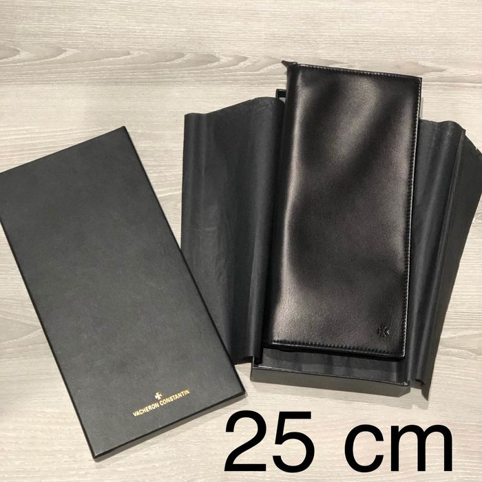 Vacheron Constantin - No Reserve Price- Big Wallet / documents holder - Black Leather- NOS  - Super rare only for VIP customer - Unisex - 1990-1999