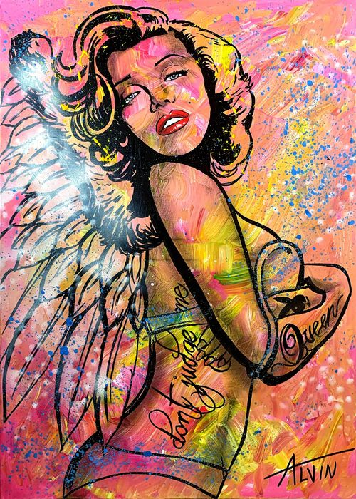 Alvin Silvrants - Marylin Monroe beautiful Angel