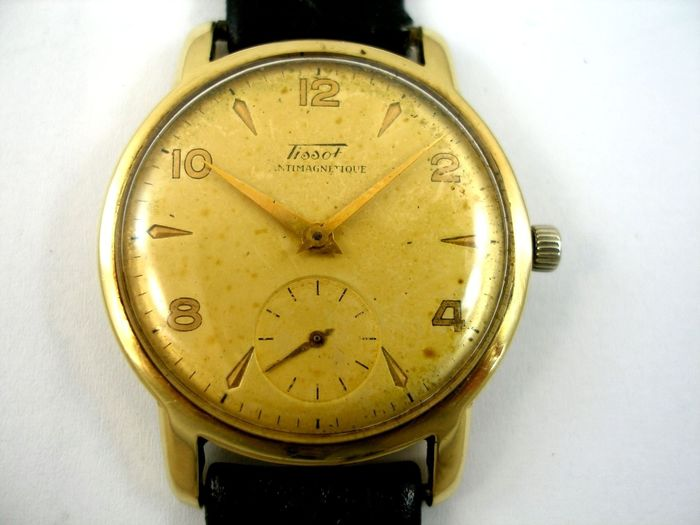 "Tissot - Sub Second 14K - ""NO RESERVE PRICE"" - Homme - 1950-1959"