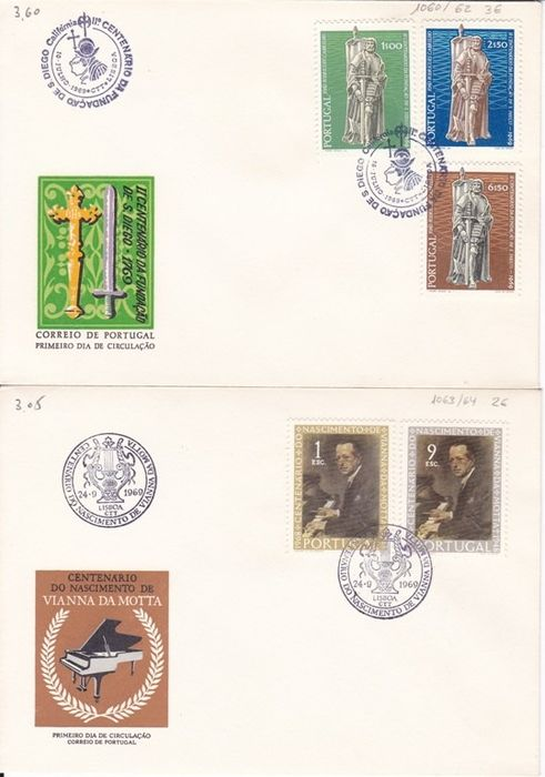 Portugal 19541986 Group Of Fdc Catawiki