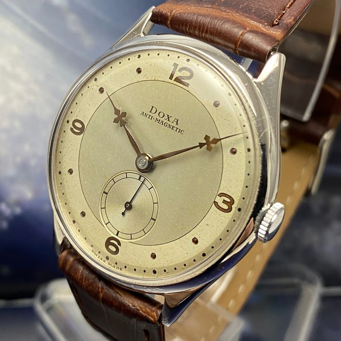 "Doxa - Dress Watch Vintage ""NO RESERVE PRICE"" - 4571047 - Homme - 1901-1949"
