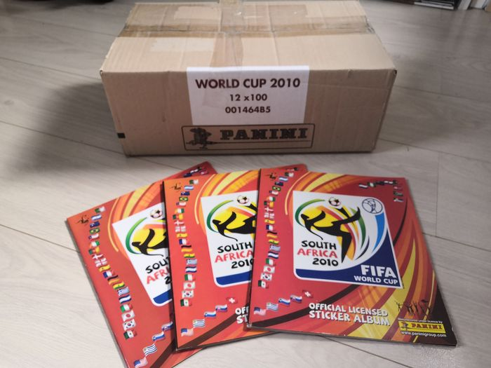 Panini - Case with 12 sealed boxes WC South Africa - 2010