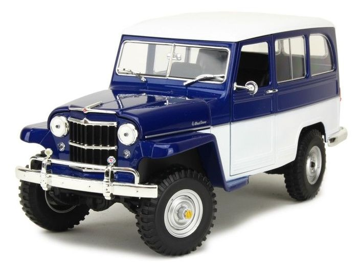 Road Signature - 1:18 - Willys Jeep Station Wagon 1955