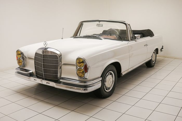 Mercedes-Benz - 220 SE Convertible - 1965