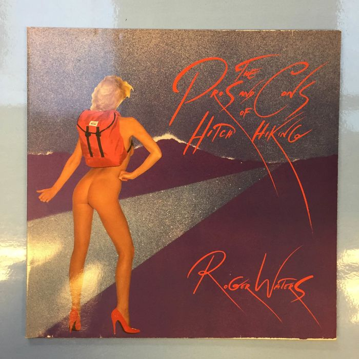 Roger Waters, Roger Waters & David Gilmour - The Pros And Cons Of Hitch Hiking, David Gilmour , About Faces - Vários títulos - Álbum LP - 1983/1984