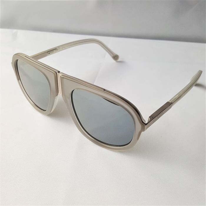 ill.i Optics by Will.i.am - Pilot Aviator Double Frame Gold Grey - 2020 - Made in Italy - New Zonnebril
