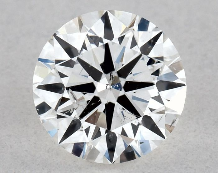 Diamant - 0.51 ct - Brillant - F - SI2, VG/VG/VG | IGI