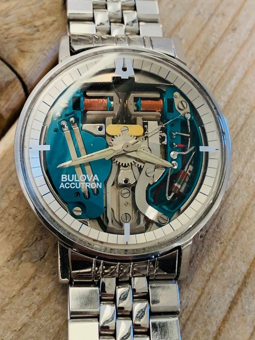 Bulova - Accutron Spaceview 214 / M5 - 1-319785 - Homme - 1960-1969
