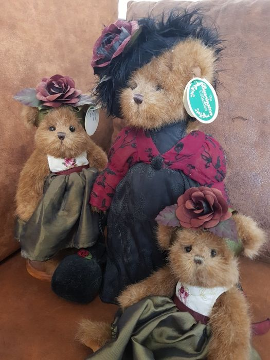 Bearington Collection - 1778, 1776 - Ours Bearington Estelle, Bearington Rose