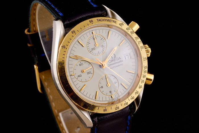 Omega - Speedmaster Gold/Steel Chronograph Automatic -
