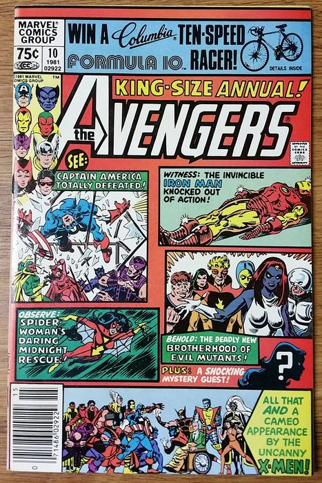 Avengers Annual 10 - By Friends-- Betrayed! - Agrafé - EO - (1981)