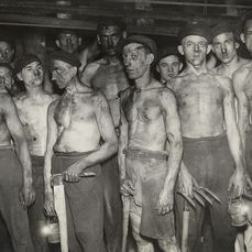 Otto Umbehr (1902-1980) - Miners, c.1939