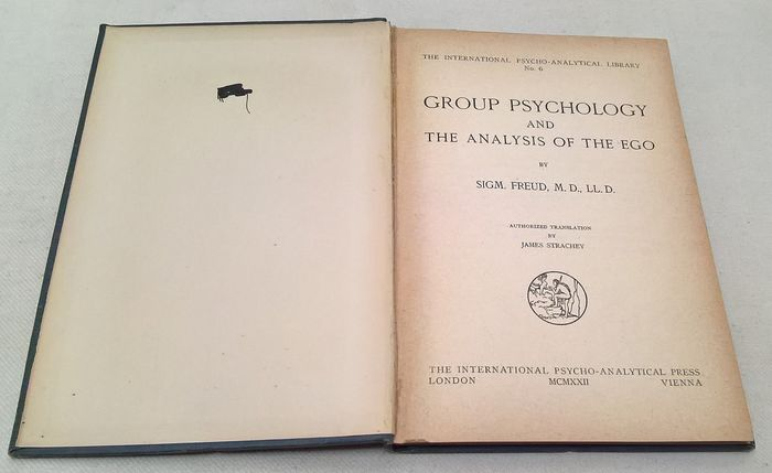 Sigm. Freud M.D., LL.D. - Group Psychology and the Analysis of the Ego - 1922