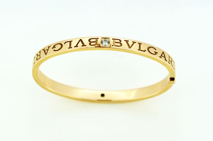 Bvlgari Or jaune - Bracelet - Diamants