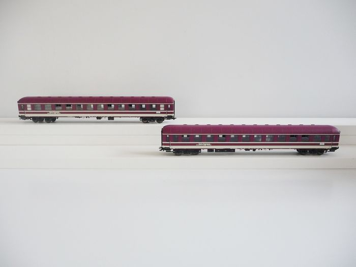 Märklin H0 - 43946 - Passenger carriage set - Two coupe cars Bm -  Euro-Express Sonderzüge GmbH & Co. KG.