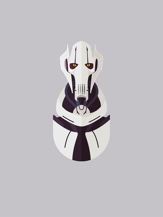 Star Wars - IXXI - General Grievous signed by voice actor Matthew Wood