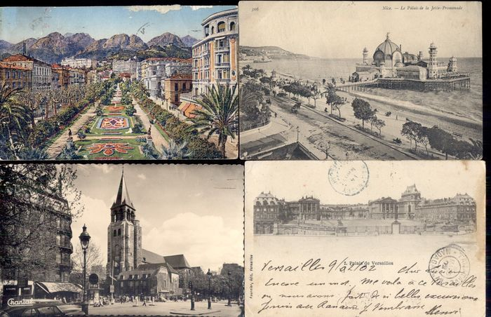 France Europe Postcards Collection Of 163 1900 1950