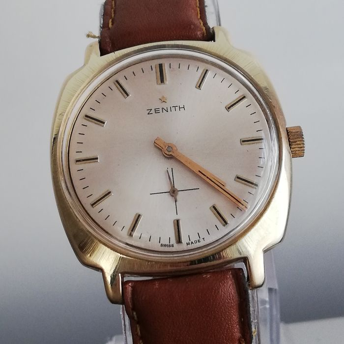Zenith - Manul Winding 2541 Cal. 20 mic.gold Plated - 265E671 - Homme - 1960-1969