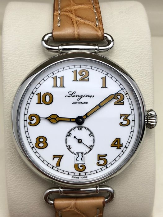 "Longines - Heritage 1918 Classic ""NO RESERVE PRICE"" - L2.309.4 - Homme - 2011-aujourd'hui"