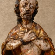 "Sculpture, Christ ""Ecce Homo"" - Baroque - Wood - 18th century"