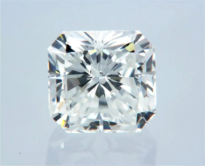 1 pcs Diamant - 1.07 ct - Radiant - E - VS1