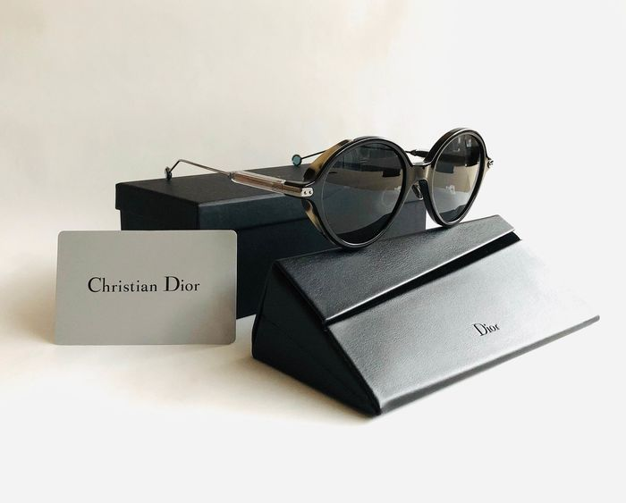 Christian Dior - DIORUMBRAGE-L9R 52, Black Ruthenium, Dark lenses, *Brand new & Unused Sunglasses