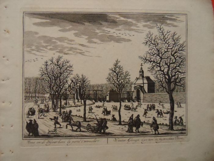Pays-Bas, Amsterdam; D. Stoopendael (e.a. ?) - 16 gravures - 1681-1700