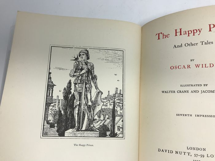 Oscar Wilde / Walter Crane - The Happy Prince and other Tales  - 1910
