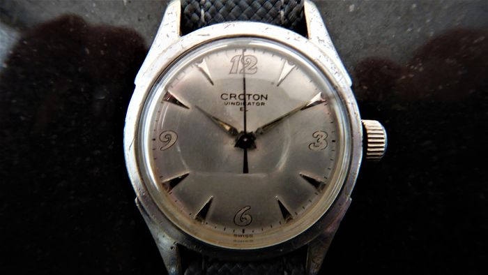 CROTON NIVADA GRENCHEN - Vindicator Military Watch - V 22289  - Homem - Post Pearl Harbour - Circa Q2 1942