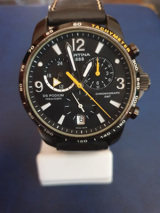 Certina - DS Podium GMT,Chronograph-Big Size - Heren - 2011-heden